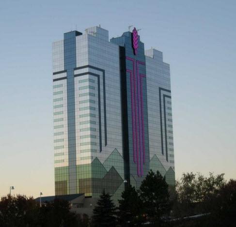 L'hotel casino Niagara, à Niagara falls, en Ontario Canada