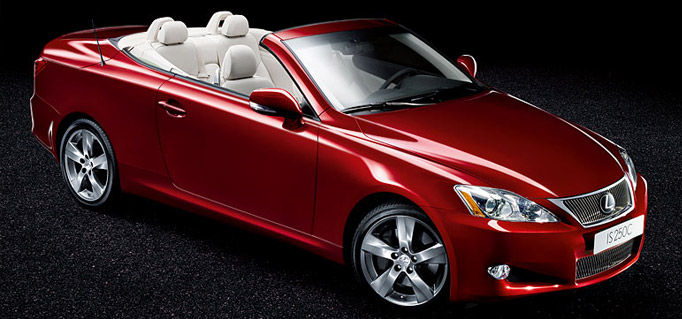 Lexus cabriolets IS 250 C et IS 350 C