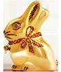 Lapin Lindt d'or