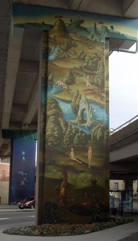 Business du graffiti, colonne 1