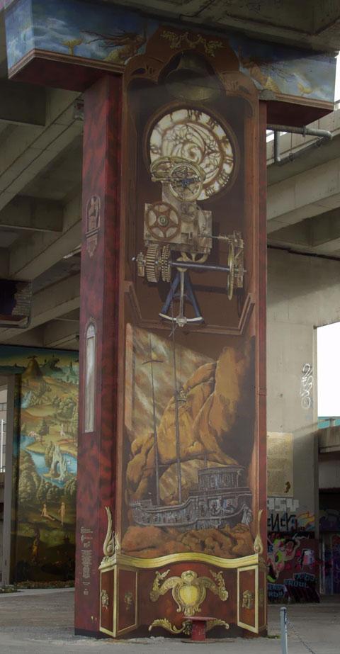 Business du graffiti, colonne 4