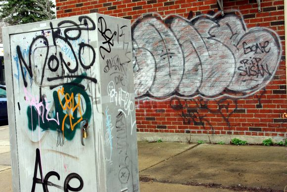 Business du graffiti laid