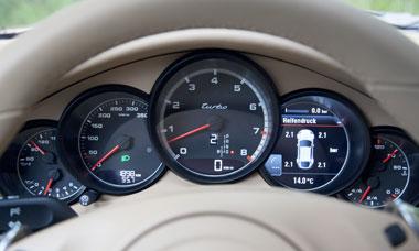 Porsche nouveau modele - Tableau de bord