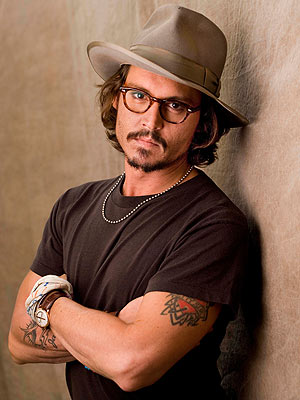 Johnny Depp proclamé l'homme le plus sexy 2009