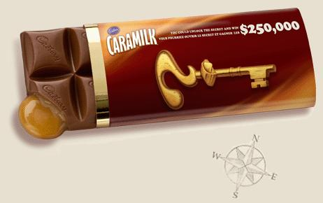 Clé d'or Caramilk