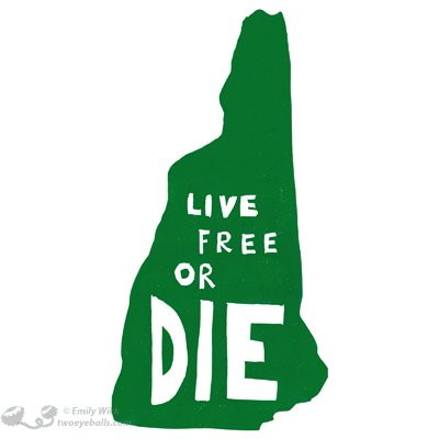 New Hampshire : vivre libre ou mourir