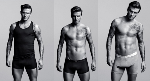 Sous-vêtements masculins signés David Beckham
